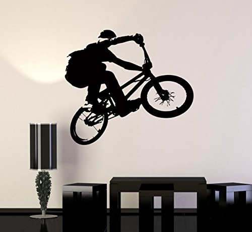 Wall Stickers Vinyl Decal BMX Bike Bicycle Extreme Sport Decor for Living Room (Z2103I)