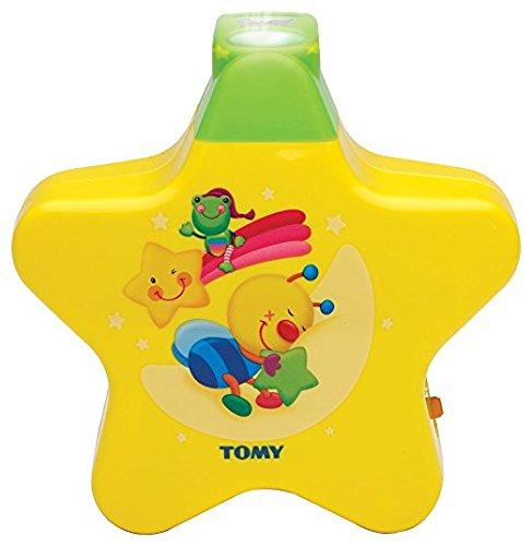 """TOMY \""""Starlight Traumshow\"""" in Gelb, Nachtlicht Kinderzimmer, Einschlafhilfe für Babys mit Musik, Vereint Babyspieluhr und Schlummerlicht, Babyzubehör, Geschenke zur Geburt, ab 0 Monaten"""