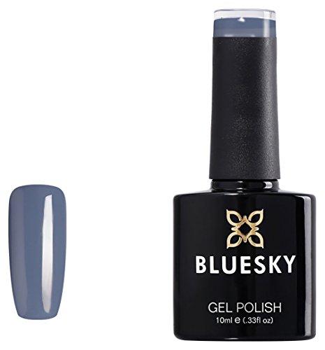 Bluesky Esmalte de gel UV/LED, pizarra limpia, 63927, 10 ml (requiere secado bajo lámpara UV o LED)