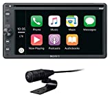 Sony XAVAX205DB - Media receptor de 16,3 cm (6,4 pulgadas, con Bluetooth, Apple CarPlay y Android Auto, navegación, Spotify)