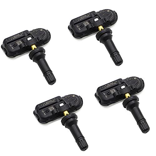 TANGIST Para 2014 - RAM 1500 2500 3500 Sensor de presión de neumáticos 68249197AA PARA DODGE RAM para para el monitor de sensor de neumático FOR FOR Jeep Cherokee 434MHz (Color : 4pcs)