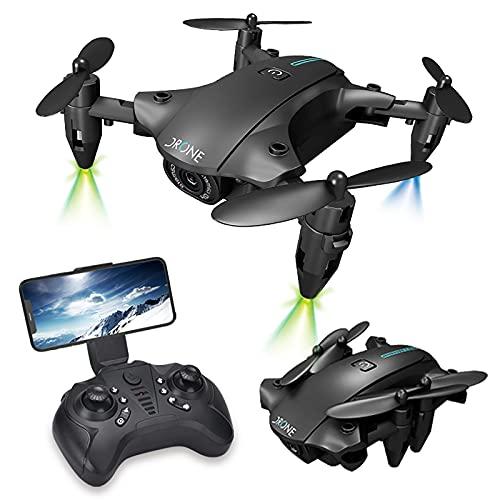 Neue Technologie Mini RC Drohne 4K HD WiFi FPV Luftdruck Doppelkamera RC Quadcopter faltbare Drohne, Anfänger APP Steuerung Foto Echtzeit Videoübertragung Handy Steuerung