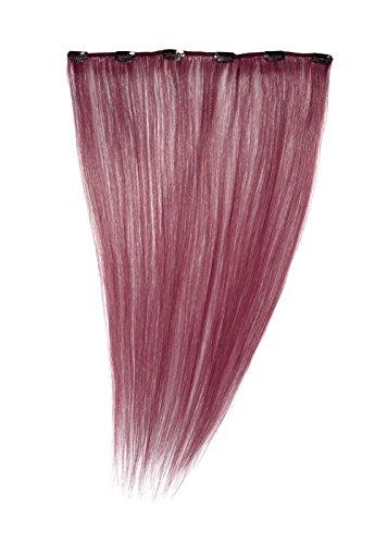 American Dream - A1/QFC12/18/530 - 100 % Cheveux Naturels - Barrette Unique Extensions à Clipper - Couleur 530 - Prune - 46 cm