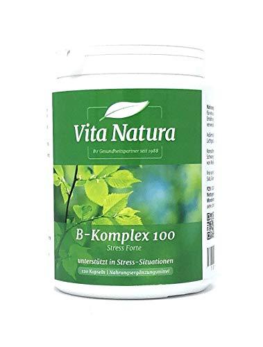 Vita Natura B-Komplex 100 Forte 120 veg. Kapseln (91,6g)