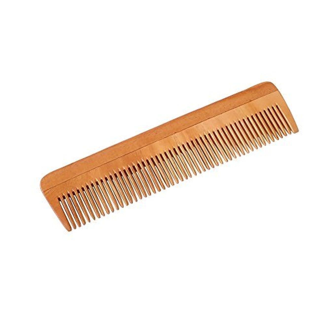 故意に軽減追い払うHealthAndYoga(TM) Handcrafted Neem Wood Comb - Non-Static and Eco-friendly- Great for Scalp and Hair health -7