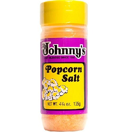 Review Johnnys Popcorn Salt 4.75 oz