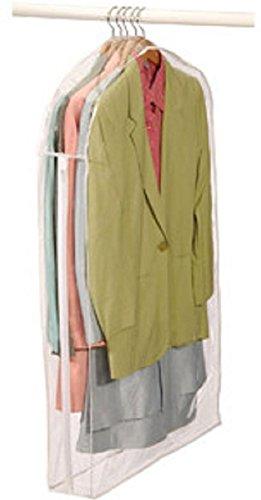 LUXEHOME pieghevole antipolvere per abiti e vestiti, panno, protegge Storage Home Decor-Set di 6 (1408-11 GB)