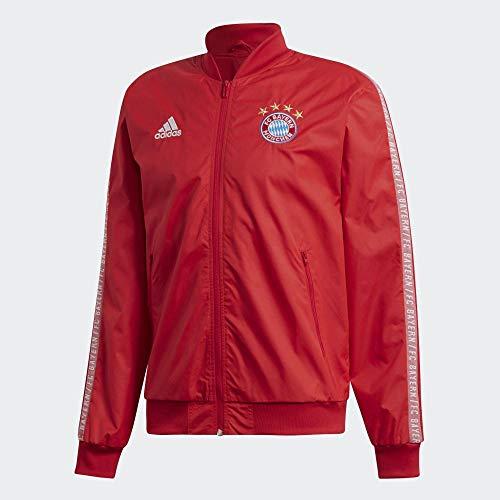 adidas FCB Anthem JKT Jacke, Herren S rojfcb/Weiß