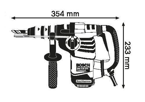 Bosch Professional GBH 3-28 DFR Bohrhammer - 7