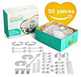 Complete Baby Proofing Kit, 50 pieces,11 different products to Childproof your proof house with Door and Cabinet Locks, Latches & Plug Covers. Essential Baby & Child Safety Kit or Baby Shower Gift set