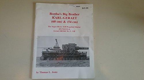 BERTHA'S BIG BROTHER, KARL-GERAET [Paperback] by