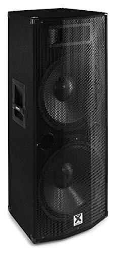 """CASSA AMPLIFICATA ATTIVA DIFFUSORE MONITOR DJ 1200w 2x12"""" BLUETOOTH DISPLAY TELECOMANDO"""