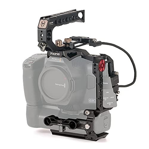 (Black) TILTA TA-T11-B-B jaula de Cámara Cage Basic Kit para BMPCC 6K Pro Blackmagic...