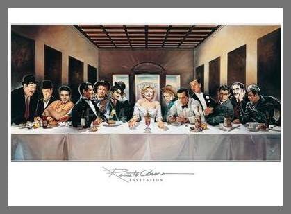 #33512 50x35cm Renato Casaro Invitation Poster Kunstdruck