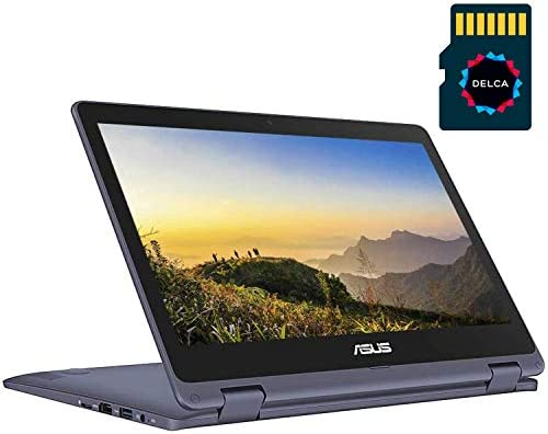 ASUS VivoBook Flip 2020 Premium Thin and Light 2 in 1 Laptop I 11 6 HD Touchscreen I Intel Core product image