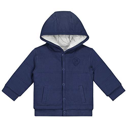 Prénatal Baby Jungen Sweatjacke mit Kapuze Baumwolle Indigo Blau Größe 68