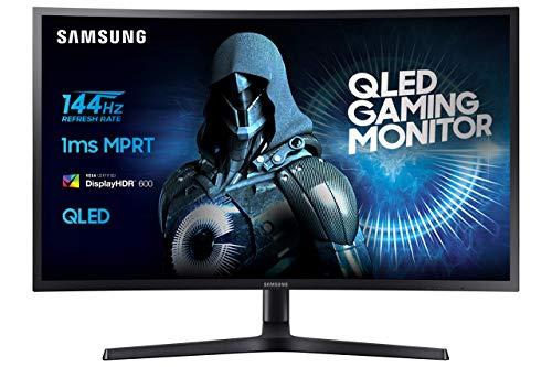 Samsung C32HG70 - Monitor de 81,28 cm (32'', pantalla LCD/LED, HDMI, DP, Piv, tiempo de respuesta de 1 ms, 2560 x 1440 píxeles), color negro