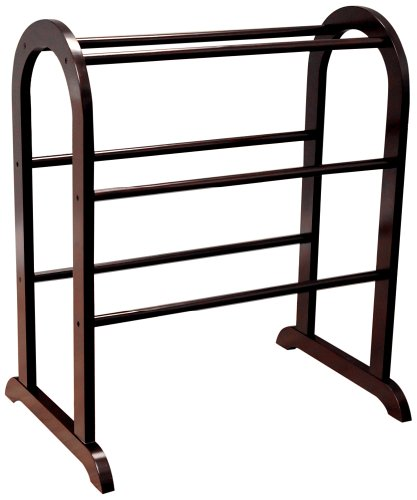 Frenchi Home Furnishing Rack, Dark Cherry