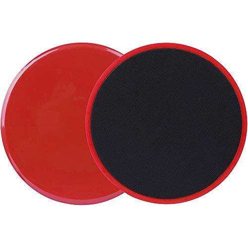 Gurxi Sport Gleitscheiben Sliders Fitness Doppelseitige Gliding Discs Core Slider für Hause Training Bauch Workouts für Teppich & Holzböden (2 Stück)