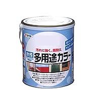 アサヒペン 水性多用途カラー 1.6L オータムブラウン