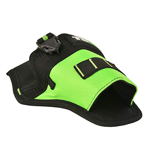 Fast Draw Drill Holster,Multiple Accessory Pockets and Split Ring Tool Belt Holster for Hang Electric Tool and Storage Bit,Strap Connection