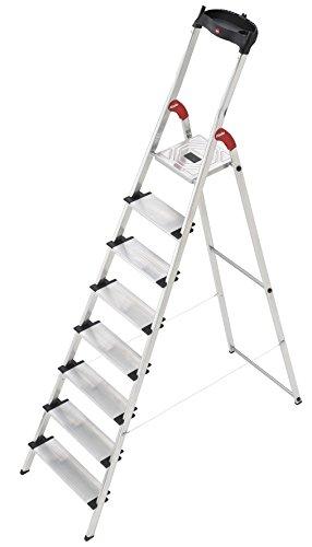 Hailo xxl easyclix - Escalera domestica xxl 8 peldaños 233cm aluminio