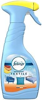 Febreze Textile Spray Désodorisant, Élimine Les Odeurs Emprisonnées Dans Les Tissus, Fruits du soleil, 500 ml