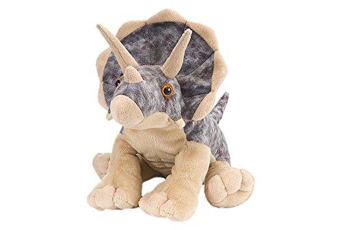 Wild Republic Triceratops Plush, Dinosaur Stuffed Animal, Plush Toy, Gifts for Kids, Cuddlekins 12', Multicolor, Model:10960