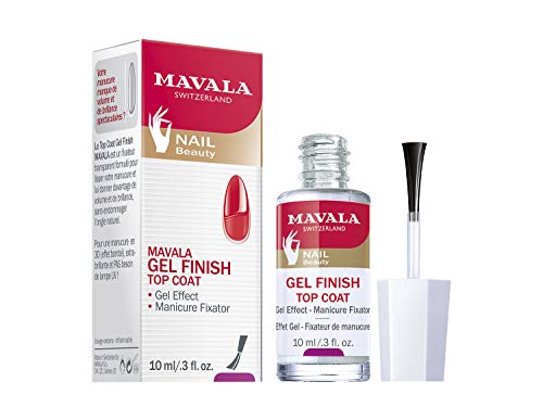 Mavala gel finish top coat - finalizador efeito gel 10ml