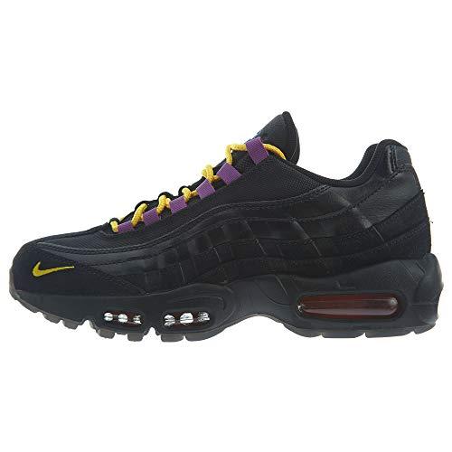 Price comparison product image Nike Air Max 95 PRM LA vs NYC AT8505-001 Black / Rush Blue / Orange Men's Shoes (10.5)