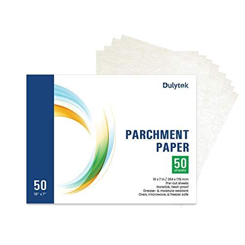 Dulytek Pre-Cut Parchment Paper - 10