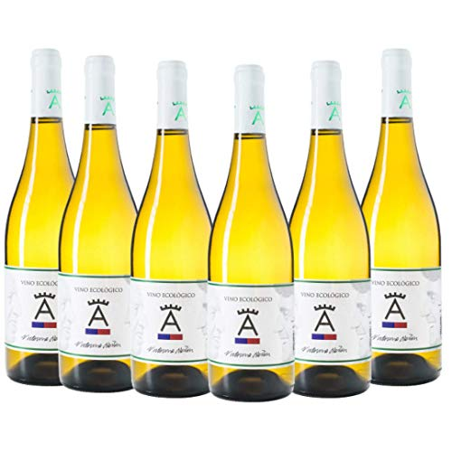 Vino Blanco Ecológico Victorino Martín - Ed. Limitada y Botellas Numeradas - Caja de 6 Botellas x 750 ml
