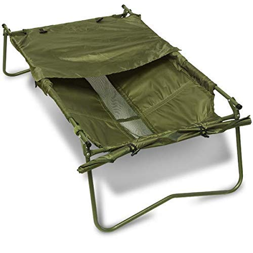 DNA Carp Coarse Large Fish Safe Folding Lightweight Fishing Unhooking Session Cradle with Frame
