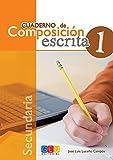 Cuaderno de composición escrita 1 / Editorial GEU / 1º E.S.O / Mejora la composición escrita del alumno/a / Recomendado como material de apoyo (Español Lengua Extranjera)