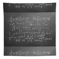 チョーク黒板方程式学校によって書かれたボード数学の数式 タペストリー壁掛けリビングルーム寝室寮部屋家の装飾ポスター