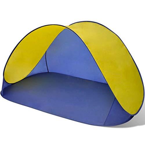 BBalm Nexos Trading - Tienda de campaña para playa (impermeable), color amarillo