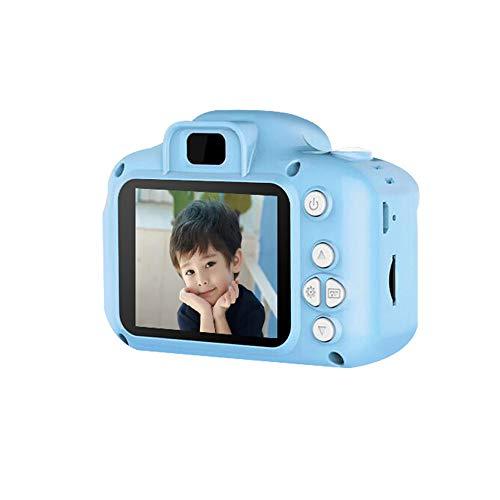 FXNB Kinderdigitalkamera, kann Mini Spielzeug Bilder Wiederaufladbare Kamera nehmen, für Kinder Baby-Geschenke Geburtstags-Geschenk Neuer Jahr-Geschenk, für Spiele im Freien,Blau