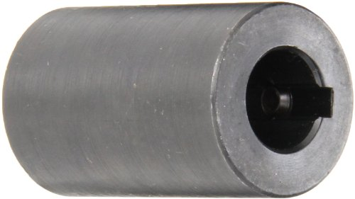 Climax Part RC-062-KW Mild Steel, Black Oxide Plating Rigid Coupling, 5/8 inch bore, 1 1/4 inch OD, 2 inch Length, 5/16-18 x 5/16 Set Screw