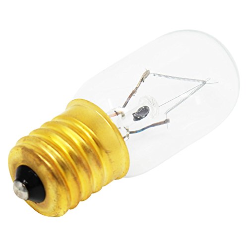 Replacement Light Bulb for Maytag MMV5208WS1 Microwave - Compatible Maytag 8206232A Light Bulb
