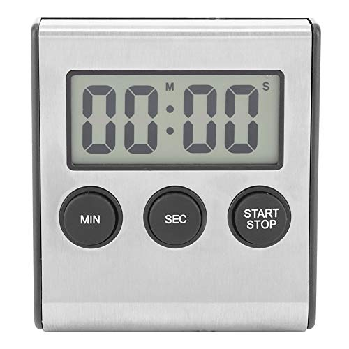 Digital Kitchen Timer Desktop Wand-Timer Wecker Mit Lautem Alarm Big Digit Mit Lautem Alarm Big Digit Hinterer Stand