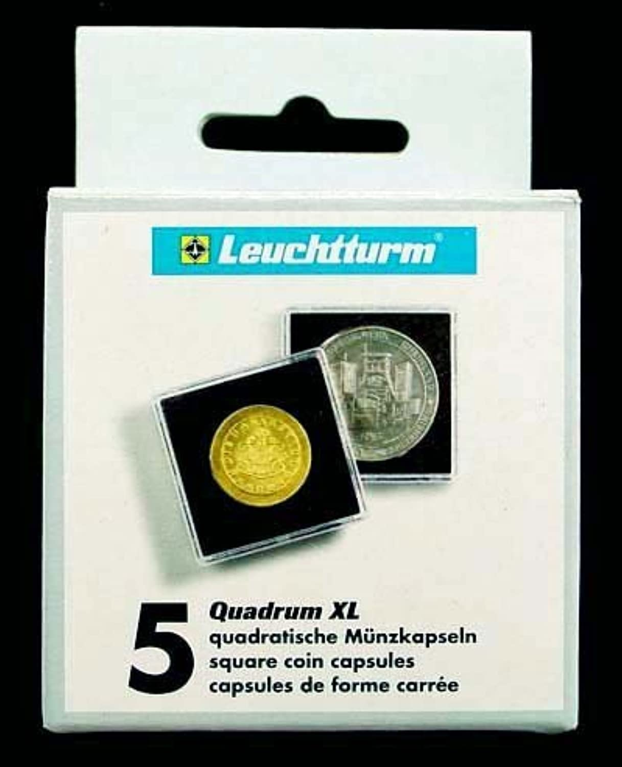 44mm QUADRUM XL Coin Storage  44mm Coin Holders by Lighthouse