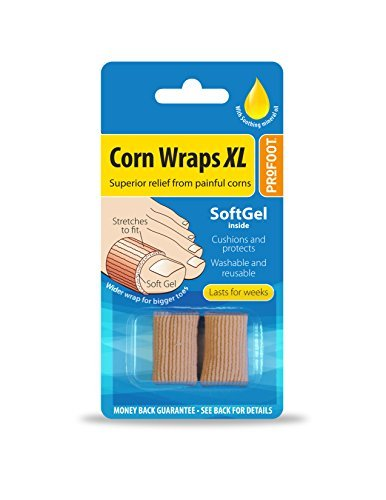 Profoot Corn Wraps XL - 2 Pack (6 wraps) by Profoot