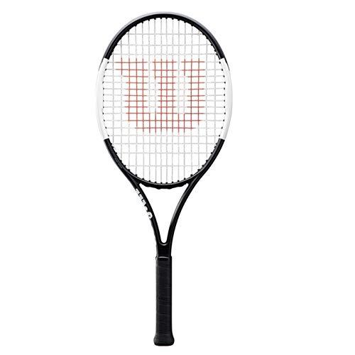 Raquetas Tenis Profesional Junior Entrenamiento De Niños Tenis De Carbono Deportes Al Aire Libre Tenis De Fitness (Color : Black, Size : 66cm/26inches)