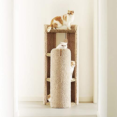 Cama para gatos para interior casa para animales nido para gatos caseta para gatos torre para gatos multicapa estructura para escalada para gatos árbol para animales domésticos peluche