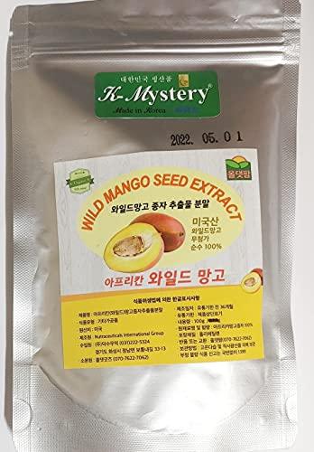 Wild Mango Seed Extract Powder (와일드 망고 분말) 3.53oz /7.1oz, African Mango, Weight Loss (3.53oz(100g))
