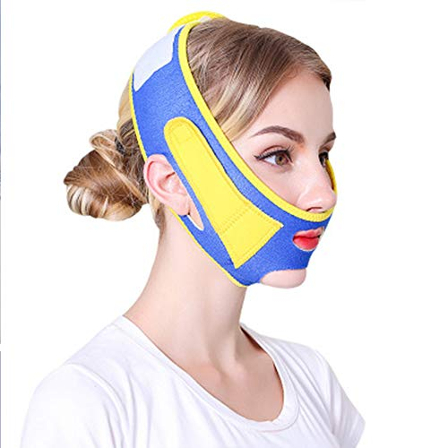 ZHYJJ Bandage Lifting Anti-Rides V Cheek Chin Lifting Belt Thin Neck Shaping Mask
