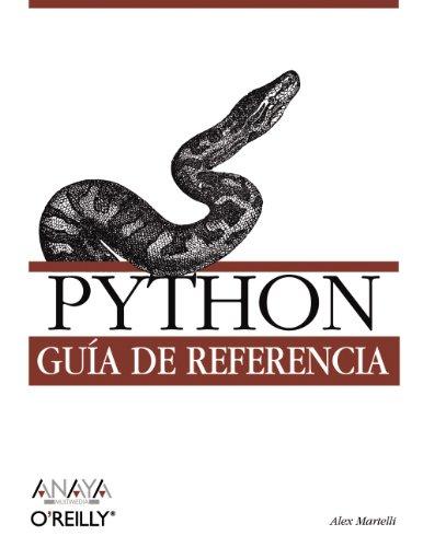 Python. Guía de referencia (Anaya Multimedia/O¿Reilly)