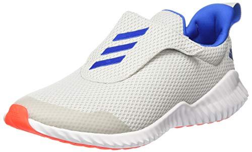 adidas Unisex-Kinder Fortarun Ac K Laufschuh, Grey Glory Blue Solar Red, 35.5 EU