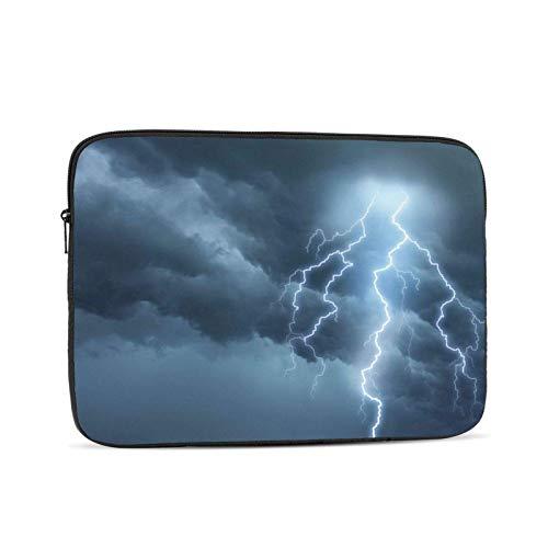 Funda para portátil Azul Claro, Bolsa de Transporte Funda para Chromebook Funda para portátil Funda para Tableta, 15 Pulgadas