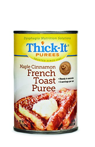 Thick-it Puree Maple Cinnamon French Toast, 15-Ounce Cans (Pack of 12)